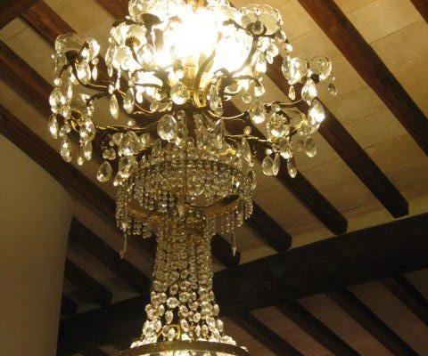 lampadario formato piccolo